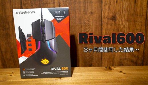 Rival600のレビュー。3ヶ月間使った感想と、良くないところ【さよなライバル】