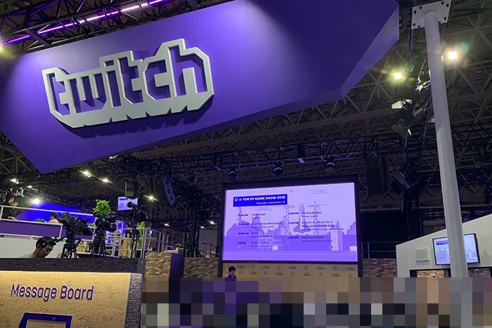 TGS2018_Twitchブース