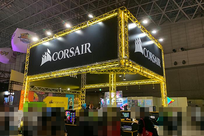 TGS2018_CORSAIRブース